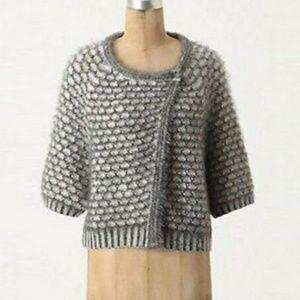 Anthropologie Moth Crop Cardigan Sweater XS